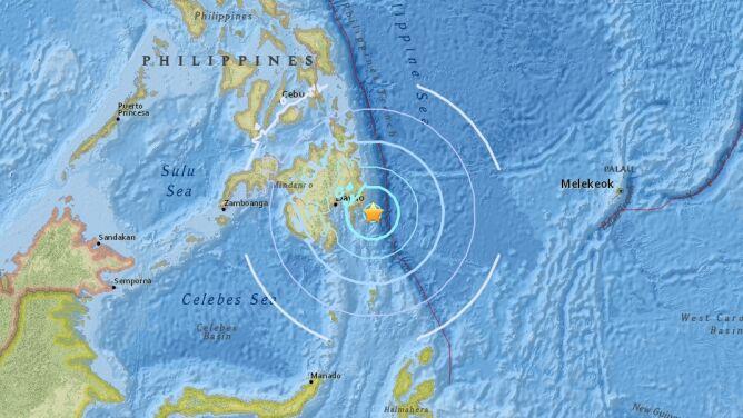 Na Filipinach zatrzęsła się ziemia