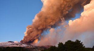 Wybuch wulkanu na Sycylii
