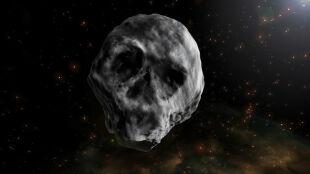 """""""Trupia czaszka"""" przeleci obok Ziemi.  Oto asteroida Halloween"""